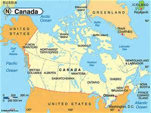 canada political map by maps from maps world s