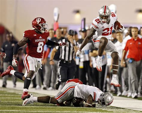 columbus dispatch sports section ohio state football deep passing game needs more work