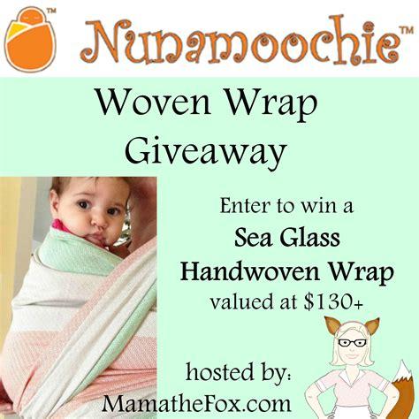 Wrap Giveaway - mamathefox nunamoochie woven wrap giveaway