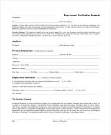 employment verification form template doc 685951 free employment verification form template