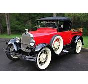 Our 1929 Ford Model A Roadster Pickup Perfect For Parades