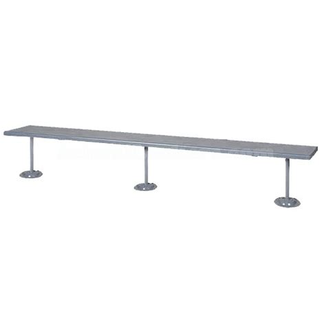 plastic locker room benches plastic laminate locker room bench with 3 steel pedestals