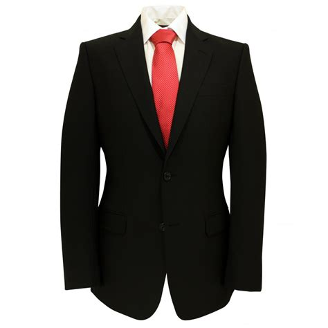 black suit magee plain black suit jacket magee from gibbs menswear uk
