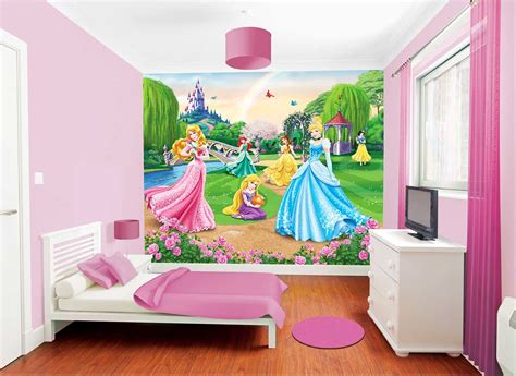 disney wallpaper bedrooms uk fototapete kinderzimmer disney princess wandbild
