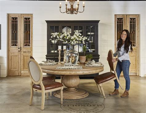 the making of a furniture showroom magnolia homes