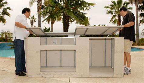 Modular Outdoor Kitchen Islands by Bbq Prep Table Plans Fire Pit Design Ideas