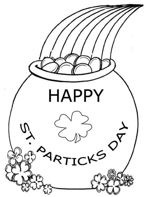 printable coloring pages st s day st patricks day crafts coloring home