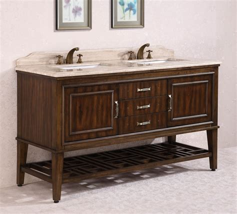 65 inch sink bathroom vanity in walnut uvlfwh376565