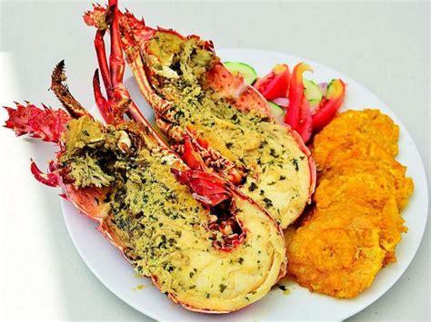 imagenes de langostas negras langosta al ajillo comida capoplatos