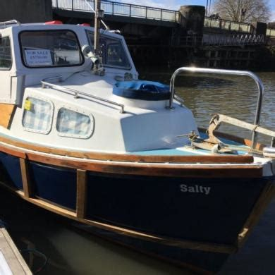 ex fishing boat for sale uk boat for sale 24ft ex naval launch fishing weekender