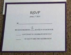 how to fill out rsvp card for wedding show me your rsvp cards weddingbee