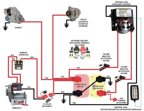 warn xd9000i wiring diagram warn winch a2000 schematic