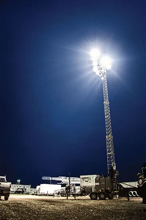 hertz light tower rental lighting showcase canadian rental service