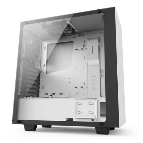 Nzxt S340 White mid tower white pc s340 elite nzxt