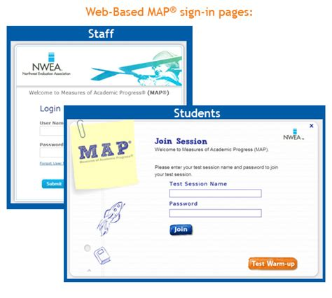 map student login map nwea student login my