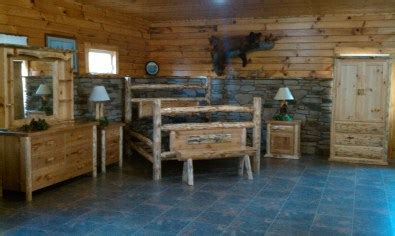the amish log furniture store quality made amish