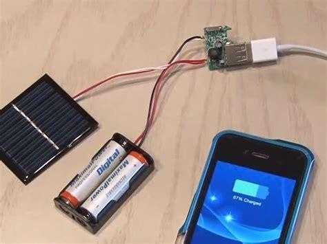 como aser un cargador c 243 mo hacer un cargador solar para celular uno nunca sabe