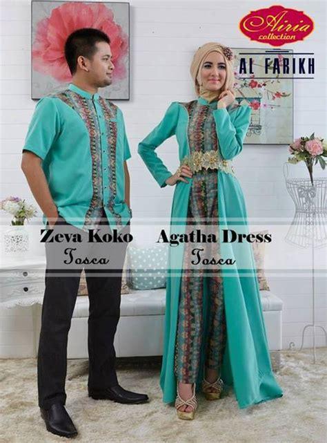 Baju Muslim Coupple Etnik Maroon zeva dan aghata tosca baju muslim gamis modern