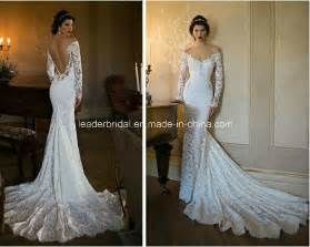 china off shoulder bridal gowns lace backless wedding