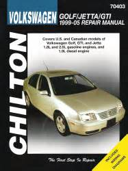 vw golf gti jetta 1999 thru 2005 automotive repair manual walmart com 1999 2005 volkswagen golf gti and jetta chilton s total car care manual