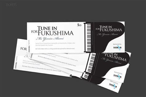 cara desain 20 desain tiket kreatif yang harus kamu lihat