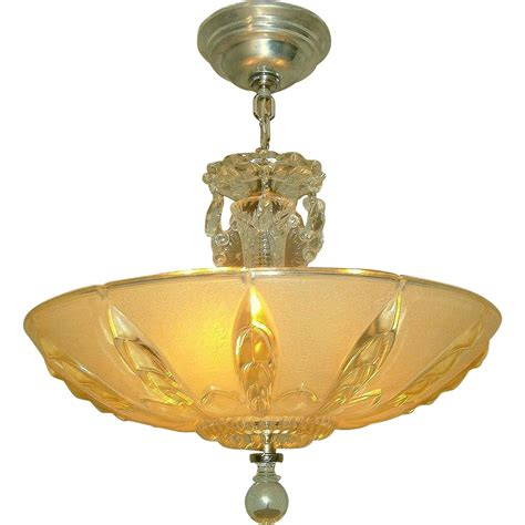 Mid Century Pendant Light Mid Century Glass 3 Light Pendant Chandelier From Loftylighting On Ruby