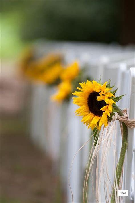 bright sunflower wedding decoration ideas