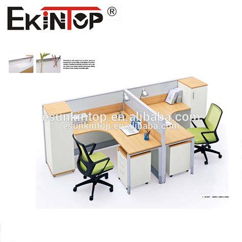 alibaba indonesia kantor 2015 desain baru modern perabot kantor 2 orang meja kantor