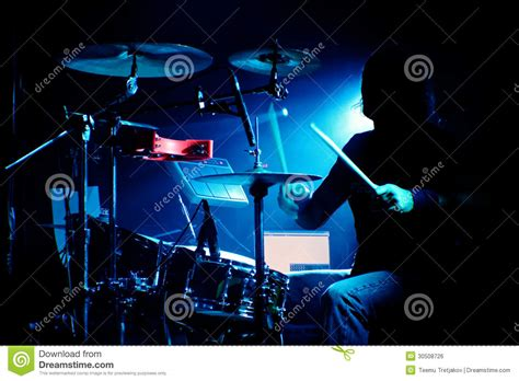 Drum Animal Concert drummer on a gig royalty free stock image image 30508726