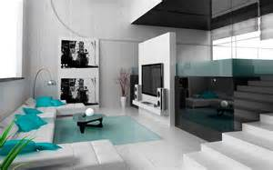 Modern Home Interior Decorating by High Tech Interior Style Overview