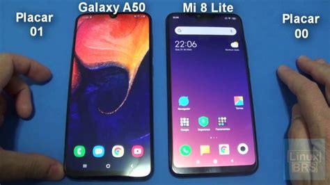 Samsung Galaxy A50 Vs Xiaomi 8 Lite by Speedtest Samsung Galaxy A50 Vs Xiaomi Mi 8 Lite