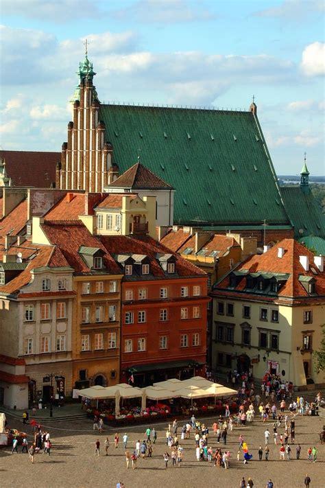 cathedrale gothique de saint jean  varsovie vieille