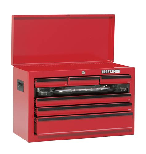 craftsman 26 inch 6 drawer tool chest craftsman 26 quot 7 drawer tool chest with take away drawer