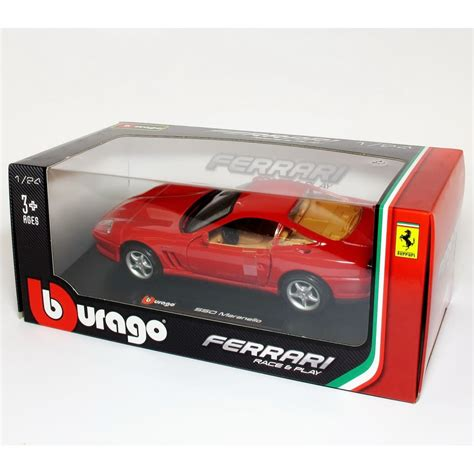 bburago b26004 1 24 550 maranello diecast model car bburago from kh norton uk