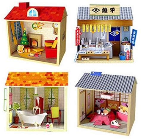 Papercraft Shop - altera s mini world february 2009