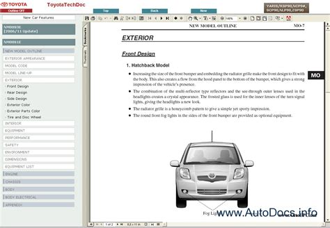 how to download repair manuals 2011 toyota yaris on board diagnostic system toyota yaris 2005 2008 service manual repair manual order download