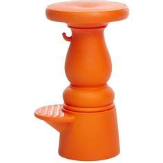 Stool Orange Color by Bar Stools And Black On