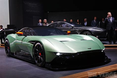 aston martin supercar up close with aston martin s vulcan supercar and electric