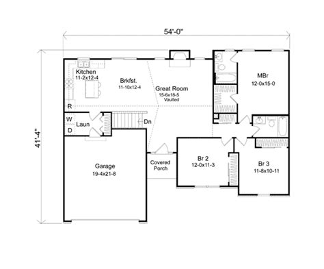 ranch house plans with mudroom seymour mill ranch home plan 058d 0170 house plans and more