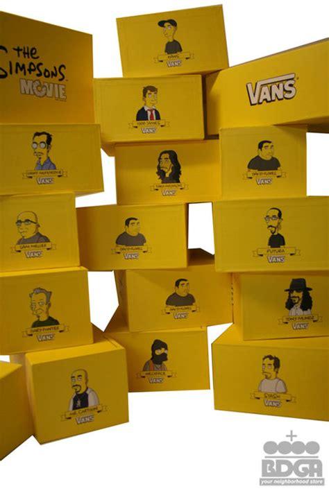 Harga Vans X The Simpsons simpsons x vans all fourteen shoes hypebeast