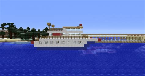 minecraft ferry boat simple ferry boat minecraft project