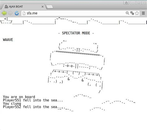 ascii boat 105 best ajax boat sfa me ascii game images on pinterest