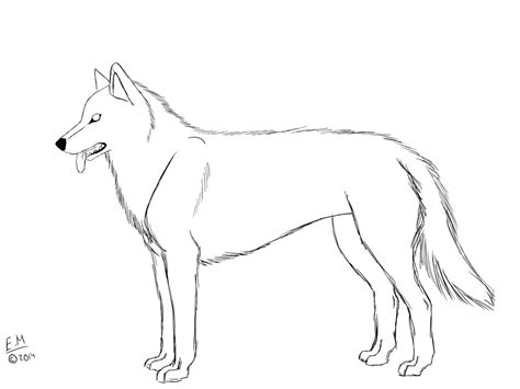 alaskan husky coloring pages