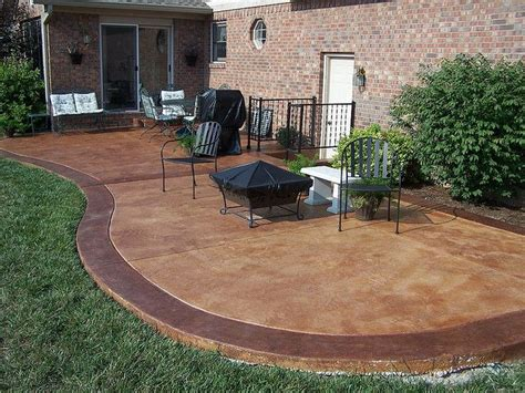 how to get stains concrete patio best 25 concrete patio stain ideas on