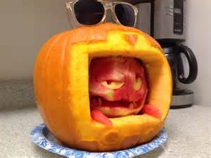 15 funny pumpkin carvings that will make you halloween king photos