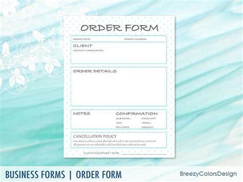 client order form template best 25 order form ideas on order form