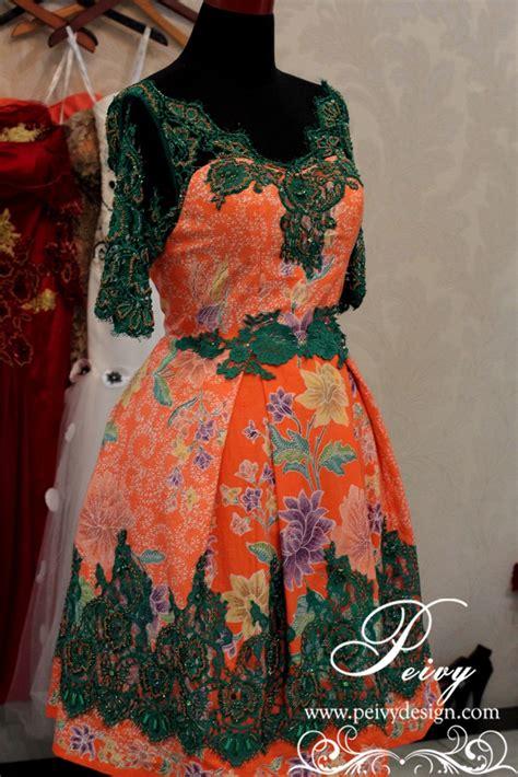 Batik Dress Cheers peivy custom made wedding gown