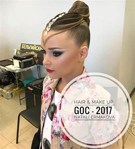 hair danze standard 1091 best hair images on pinterest ballroom dance hair