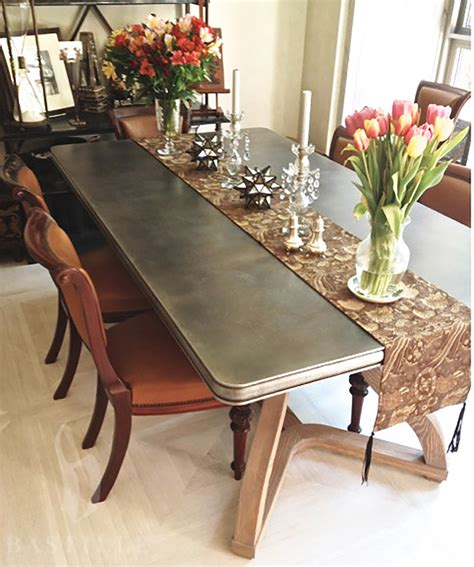 zinc dining room table 95 zinc dining room table zinc top dining table mouse to zoom as seen on houzz i