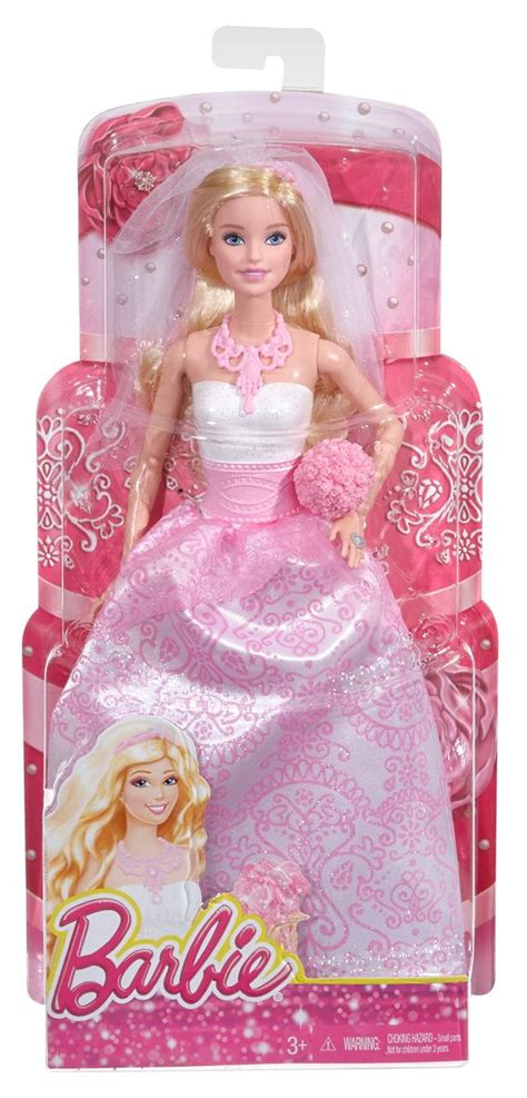 barbie fairytale bride doll toyworld
